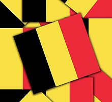 Smartphone Case - Flag of Belgium  - Multiple by Mark Podger