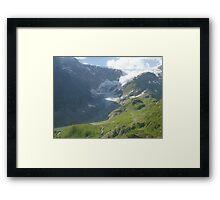 Melted Glacier_2 Framed Print
