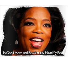 The Word of Oprah Poster