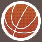 BasketBall Logo - White by cpotter