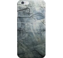 Night branches iPhone Case/Skin