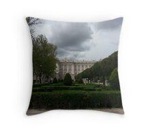 Royal Palace of Madrid Throw Pillow