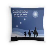Winter solstice astrology Throw Pillow