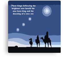 Winter solstice astrology Canvas Print