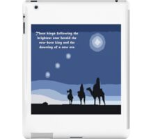 Winter solstice astrology iPad Case/Skin