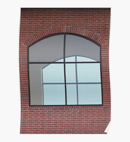 Faith Church Window - Sherman, Texas, USA Poster