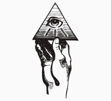 Holding the eye of the pyramid by Maestro Hazer