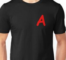 A Is For Awesome - The Scarlet Letter - Pretty Little Liars - Easy A (Designs4You) Unisex T-Shirt