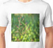 Wild grass flower in Tropical North Queensland Unisex T-Shirt