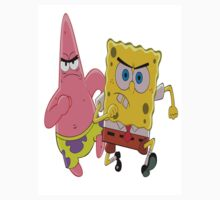 Sponge Bob and Patrick by peopleofearth