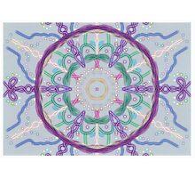 Random Psychedelic Kaleidoscope 3 Photographic Print