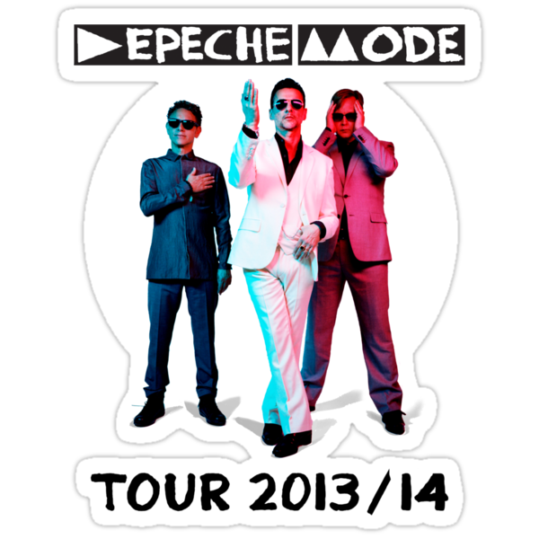 Depeche Mode : Tour 2013 with official photo - Tour 2013/14 by Luc Lambert