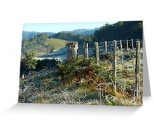 Fenceline & Frost Greeting Card