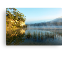 Blue Lake Tasmania Canvas Print