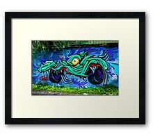 Street Art - Graffiti 2015 Framed Print
