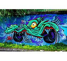 Street Art - Graffiti 2015 Photographic Print