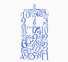 TARDIS in Numbers (Blue) Unisex T-Shirt