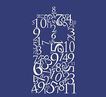 TARDIS in Numbers (White) Unisex T-Shirt