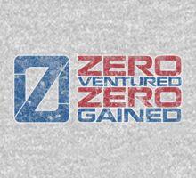 Zero Ventured Zero Gained Patriotic Numero by Zero Dean