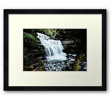 Liffy Falls near Deloraine Tasmania Framed Print