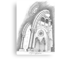 Mosteiro de Alcobaça. Canvas Print