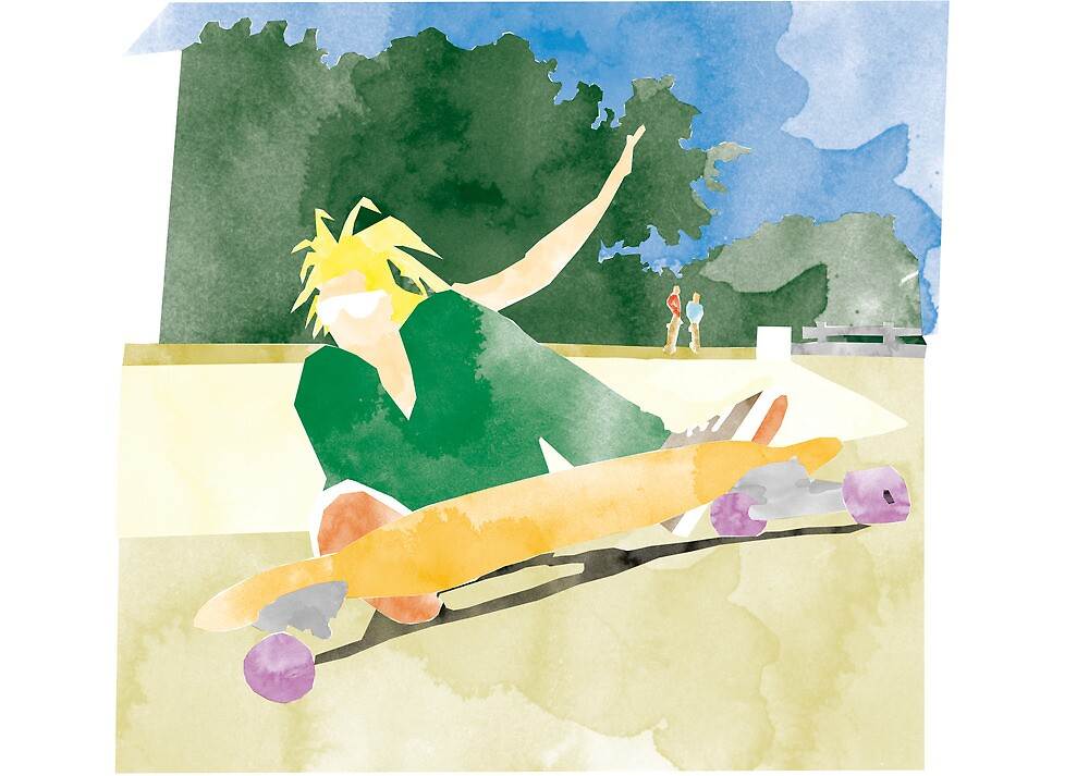 Longboarding by Thiagoshin