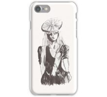Gaga Button Hair iPhone Case/Skin