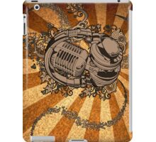 Retro Headphones & Mic iPad Case/Skin