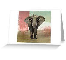 king baba Greeting Card