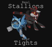 Real Stallions Wear Tights by Stelera
