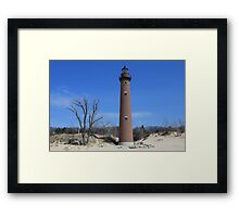 Little Sable Point Light 2013 Framed Print