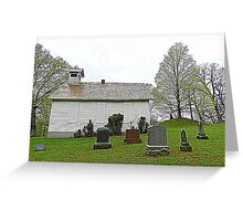 Mound Hill Cemetery Greeting Card