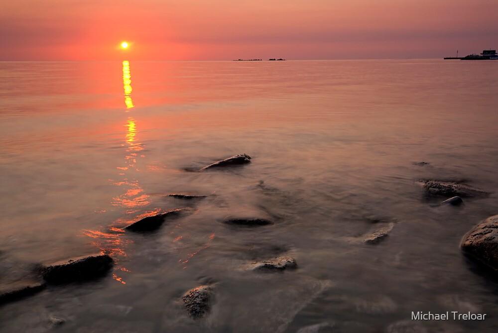 Lake Michigan, Sunset by Michael Treloar