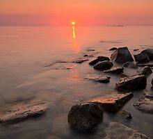 Door County, Sunset by Michael Treloar