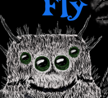THE FAIRY FLY Sticker