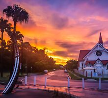 Sunset at Sandgate by Peta Thames