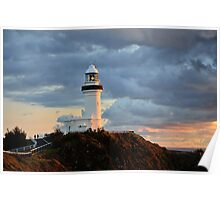 Byron Lighthouse Poster