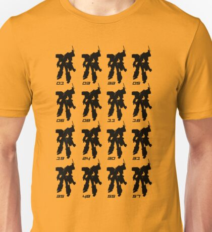 Tramsformer Routes & Robots 01 - 57 Unisex T-Shirt