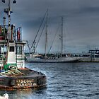 Need a tug? by Trish  Hooker