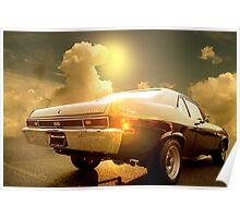Chevy Nova coupe Poster