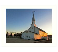 Zion Lutheran Church Art Print