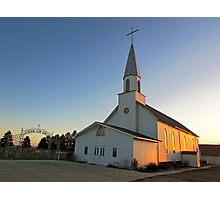 Zion Lutheran Church Photographic Print