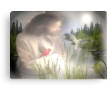 Jesus in Nature Canvas Print
