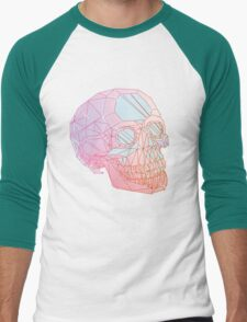 Crystal Skull Men's Baseball ¾ T-Shirt
