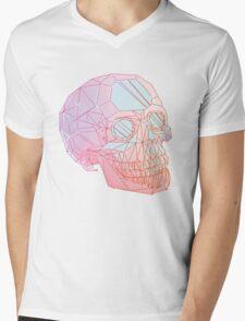 Crystal Skull Mens V-Neck T-Shirt