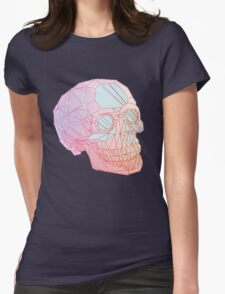 Crystal Skull Womens Fitted T-Shirt