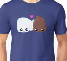 BFF's - Toilet Paper and Poop Unisex T-Shirt