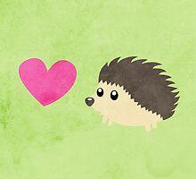 Hedgehog Love by Whitney Lynn