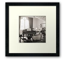 Vice-Regal Grand Piano Framed Print