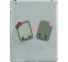Zombie Toaster Pastry Love iPad Case/Skin